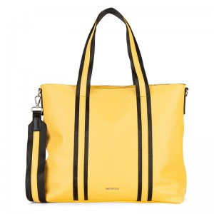 Dámská kabelka Emily & Noah Luna - žlutá