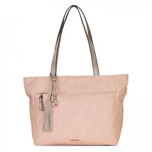 Dámská kabelka Emily & Noah Lora - růžová