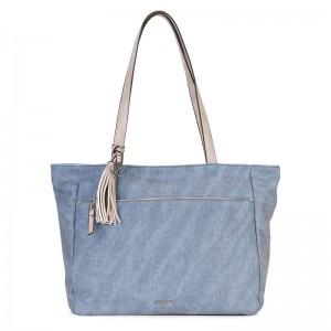 Dámská kabelka Emily & Noah Lora - modrá