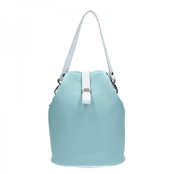 Dámské kožené crossbody Facebag Inka - modrá