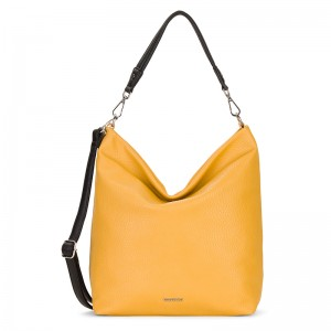 Dámská kabelka Emily & Noah Laeticia - žlutá