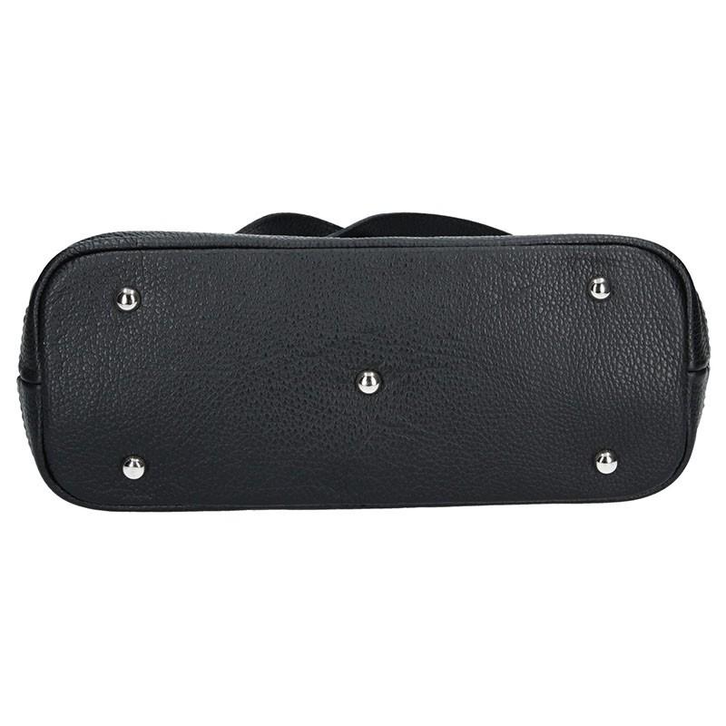 Dámská kožená kabelka Facebag Marika - černá