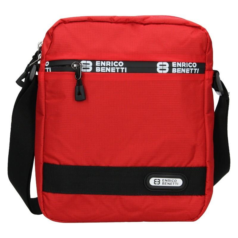 Pánská taška na doklady Enrico Benetti Gelt - červená