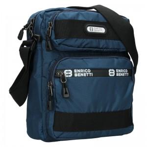 Pánská taška na doklady Enrico Benetti Dyren - modrá