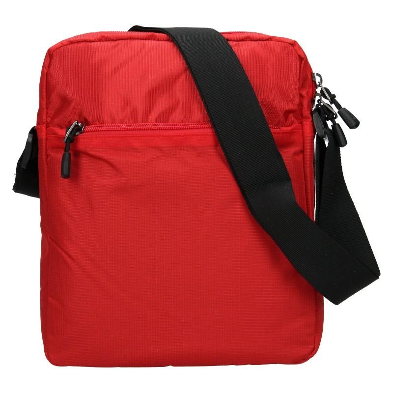 Pánská taška na doklady Enrico Benetti Dyren - červená