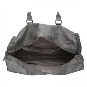 Trendy cestovní taška Enrico Benetti Travel - šedá