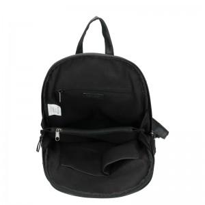 Moderní ekokožený dámský batoh Enrico Benetti Manola - černá