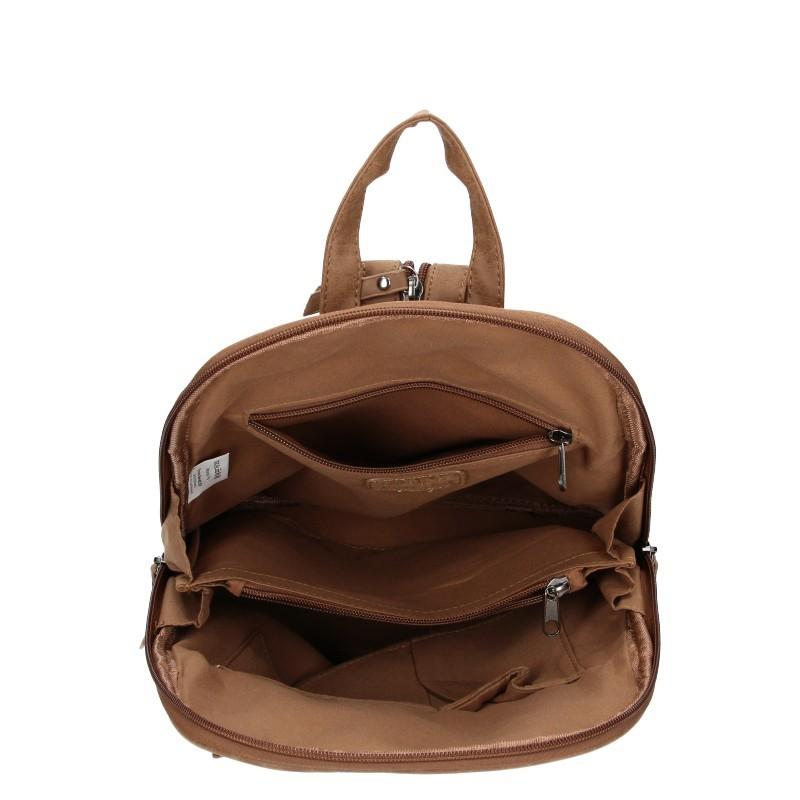 Trendy dámský batoh Enrico Benetti Manola - hnědá