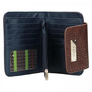 Dámská peněženka Doca 64916 - modro-hnědá