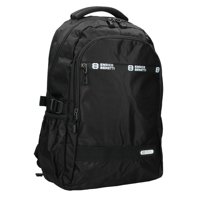 Moderní pánský batoh Enrico Benetti Samme - černá