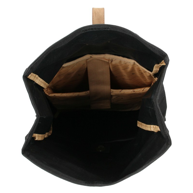 Pánský trendy batoh Enrico Benetti Hanen - černá