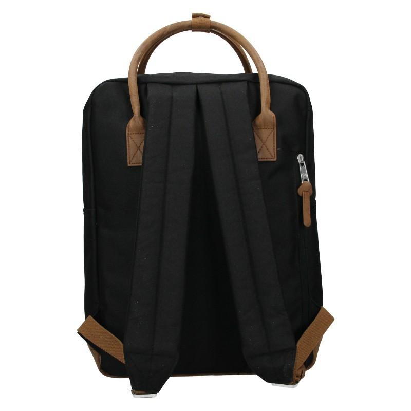 Pánský trendy batoh Enrico Benetti Svens - černá