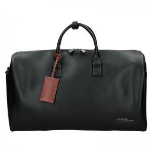 Pánská cestovní taška Calvin Klein Leones - černá