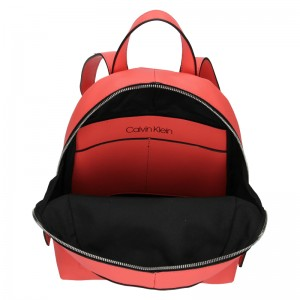Dámský batoh Calvin Klein Klea - koral
