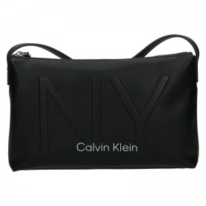 Dámská crossbody kabelka Calvin Klein Petrona - černá