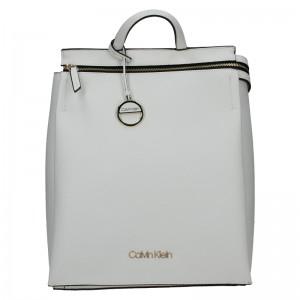 Dámský batoh Calvin Klein Siona - krémová