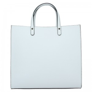 Dámská kožená kabelka Unidax Monarch - bílá