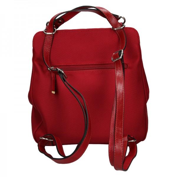 Dámská batůžko kabelka Katana Oleana - červená
