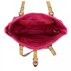 Dámská kabelka Sisley Ramona - růžová
