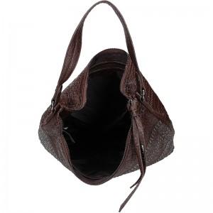 Dámská kabelka Sisley Riena - hnědá