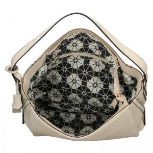 Dámská kabelka Sisley Matilda - béžová