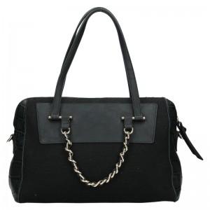 Dámská kabelka Sisley Nicoll - černá