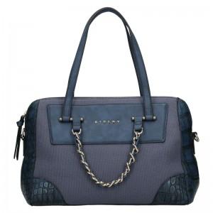 Dámská kabelka Sisley Nicoll - modrá
