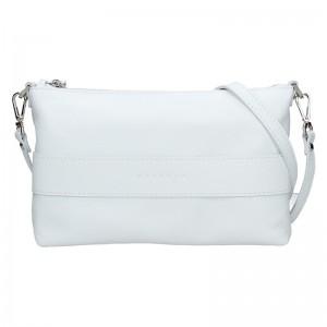 Dámská kožená kabelka Facebag Elesn - bílá