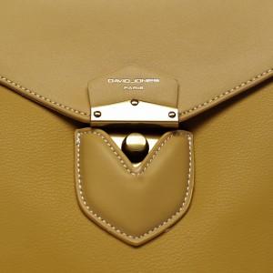Módní dámský batůžek David Jones Emily - žlutá