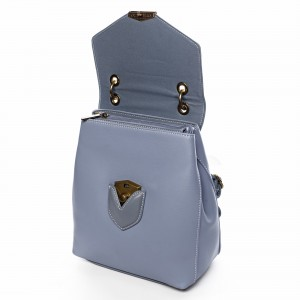 Módní dámský batůžek David Jones Emily - modrá