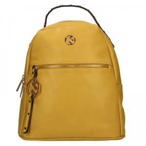 Dámský batoh Marina Galanti Izabela - žlutá