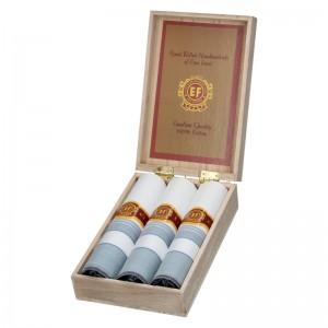 Pánské kapesníky v luxusní sadě ETEX Gelen - modrá