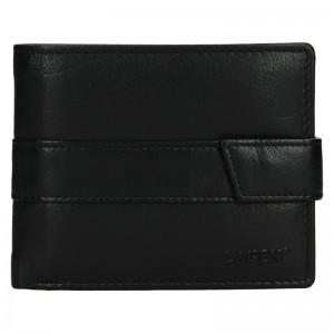 Pánská kožená peněženka Lagen Marian - černá