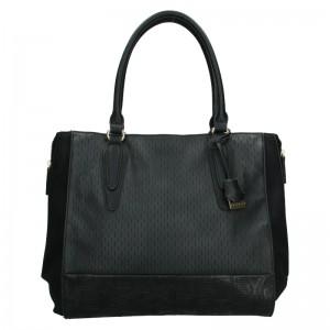 Dámská kabelka Sisley Evas - černá