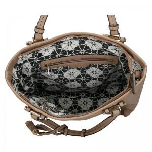 Dámská kabelka Sisley Monica - hnědá