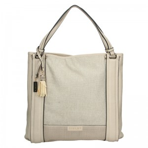 Dámská kabelka Sisley Cicela - béžová