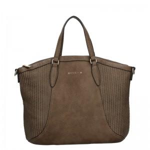Dámská kabelka Sisley Narras - hnědá