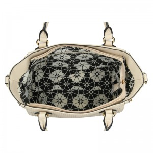 Dámská kabelka Sisley Lenka - krémová