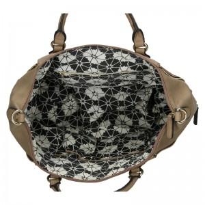 Dámská kabelka Sisley Kleris - hnědá