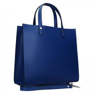 Dámská kožená kabelka Unidax Monarch - modrá