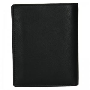 Pánská kožená peněženka SendiDesign Paul - černá