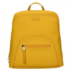 Dámský batoh Hexagona Bonia - žlutá