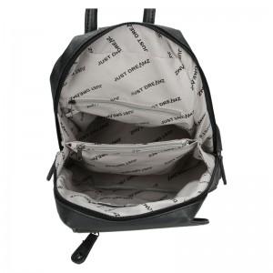 Moderní dámský batoh Just Dreamz Brenda - černá