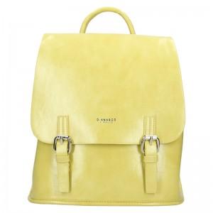 Dámská kabelka Diana & Co Amalia - žlutá