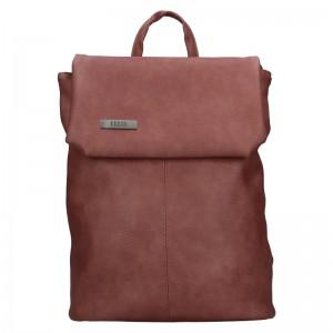 Dámský batoh Ellis Martha - tmavě růžová