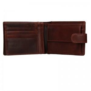 Pánská kožená peněženka Lagen Prean - světle hnědá