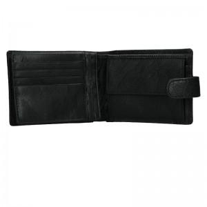 Pánská kožená peněženka Lagen Prean - černá