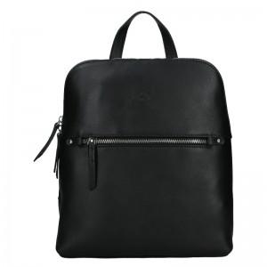 Dámský kožený batoh Katana Adléta - černá