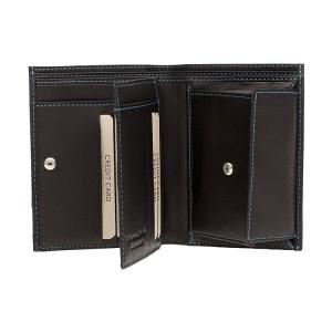 Pánská kožená peněženka Lagen Magnus - černá