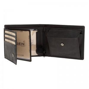 Pánská kožená peněženka Lagen Markus - černá